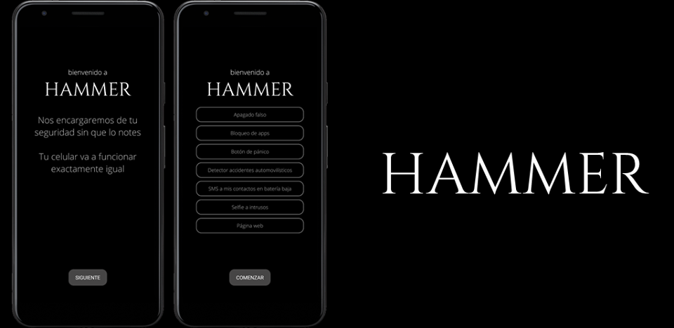 Hammer Security app