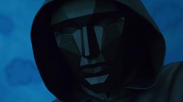 Máscara del líder de El juego del Calamar