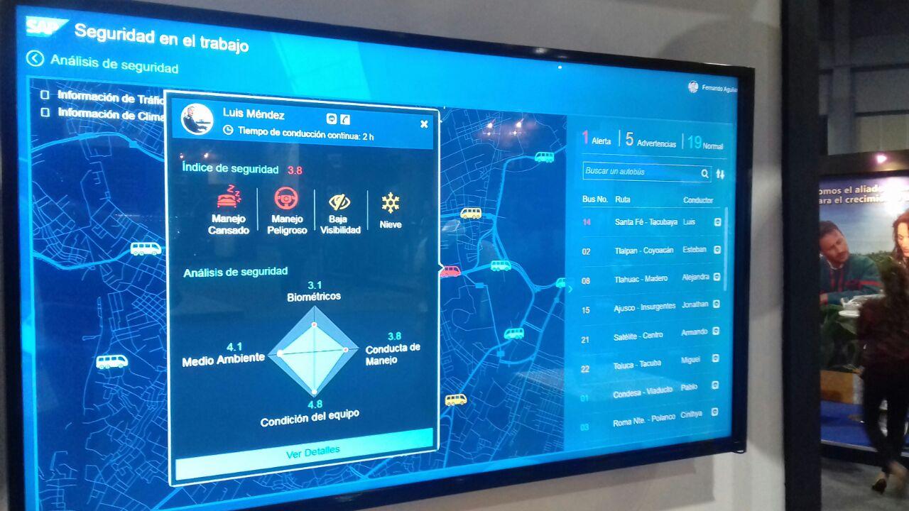 SAP Leonardo en acción
