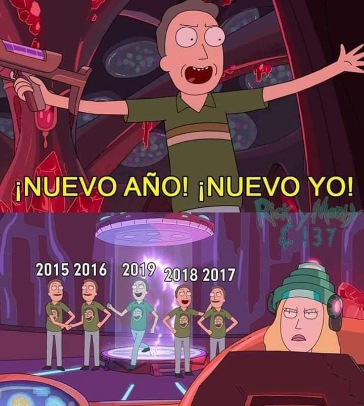 Memes de Fin de Año