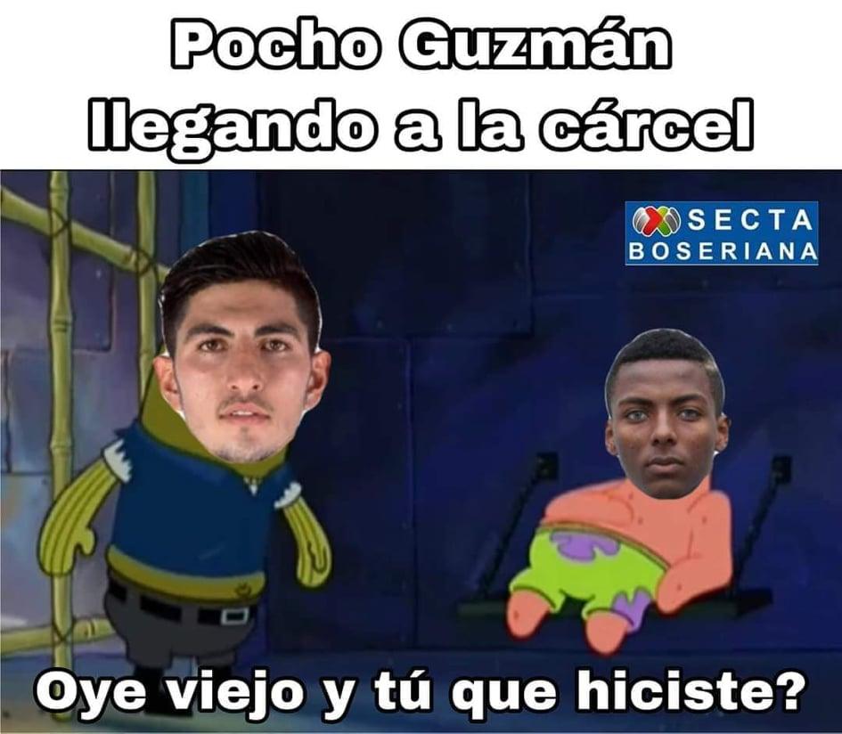 Memes del Pocho Guzmán