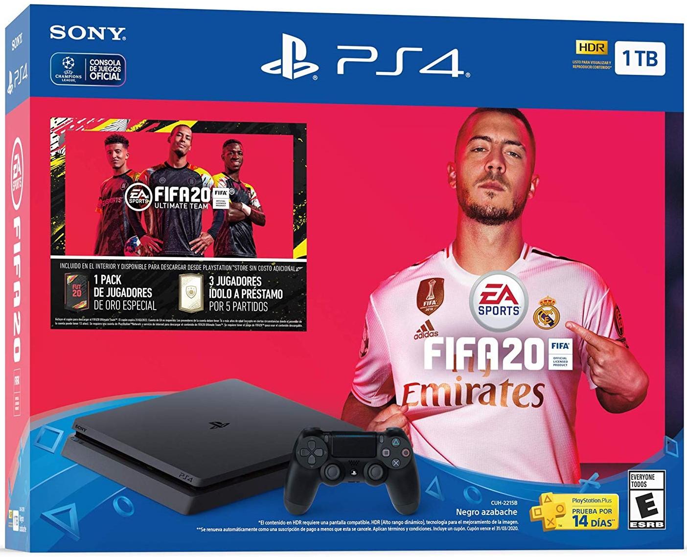 PlayStation 4 1TB con FIFA 2020
