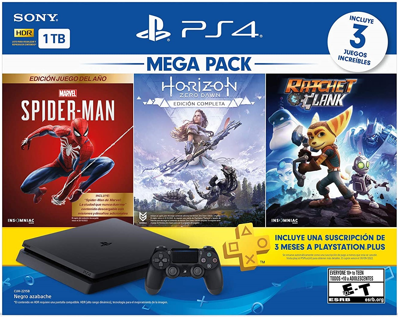 Consola PS4 Slim Megapack 15