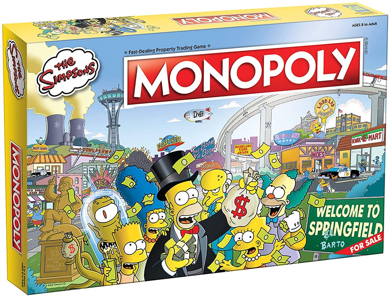 Monopoly edición Simpson