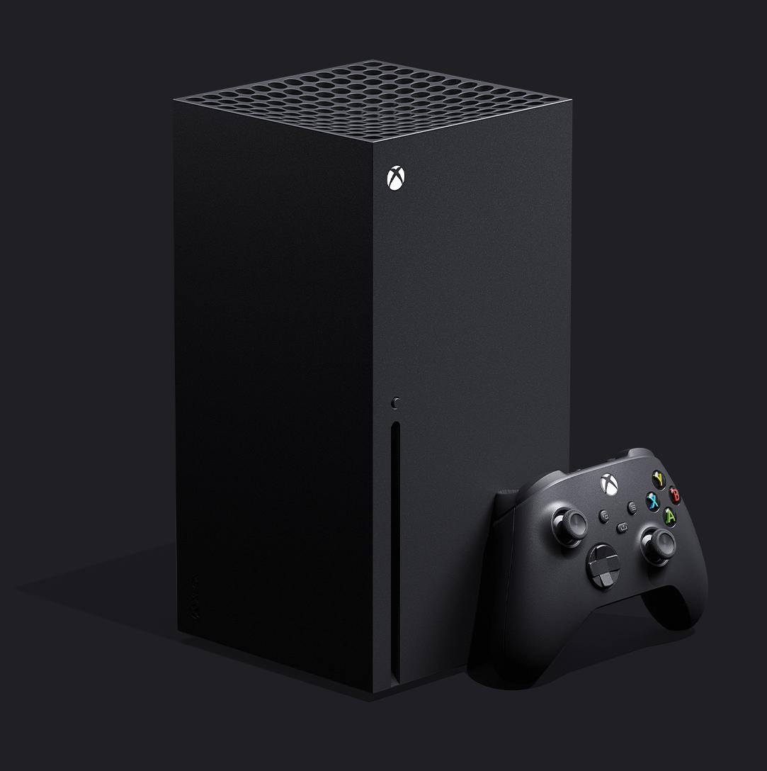 Diseño de la Xbox Series X