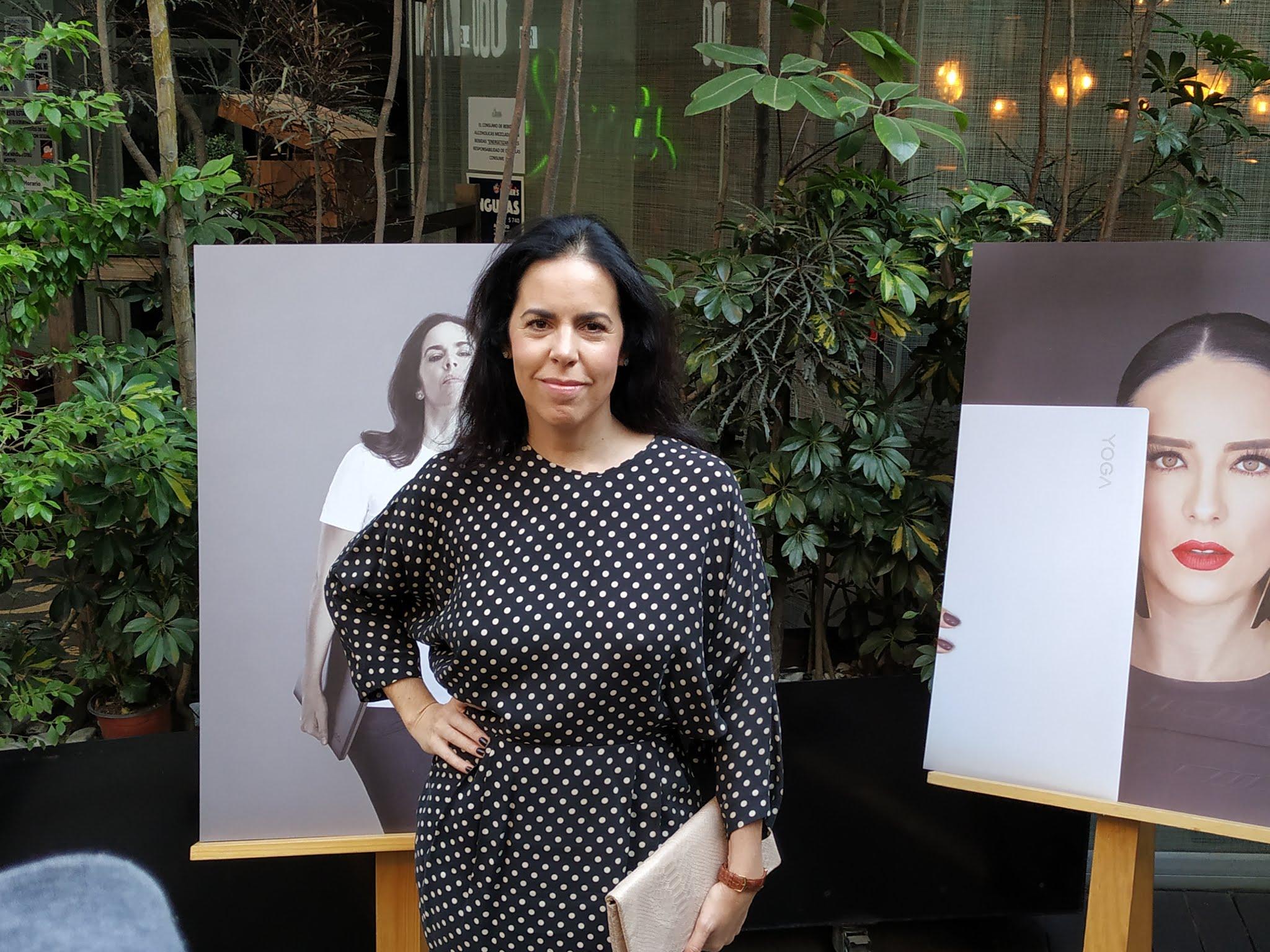 Valentina Ortiz Monasterio en Mujeres Lenovo