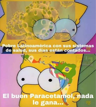 Memes del coronavirus en Latinoamérica