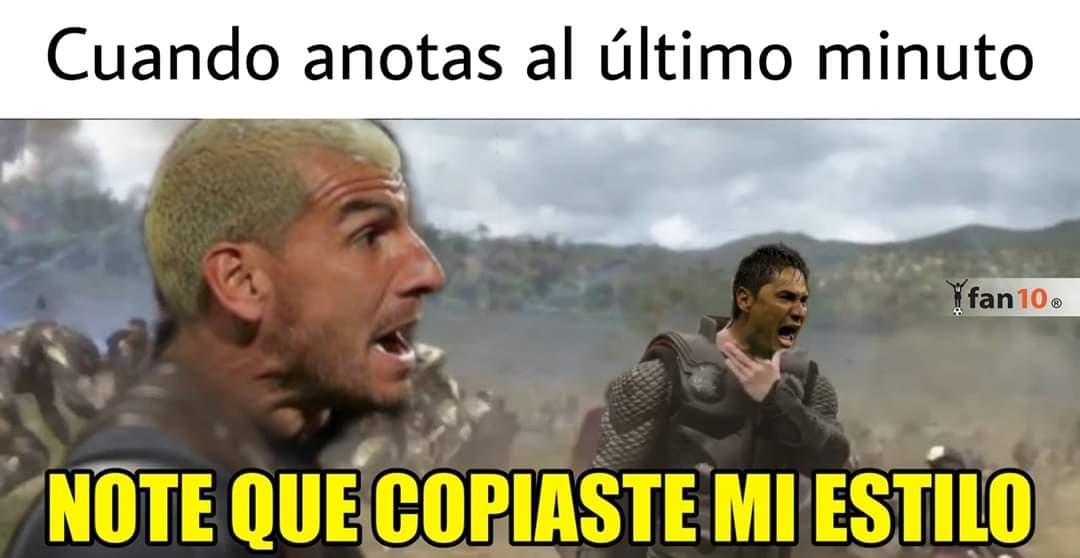 Memes de la Concachampions