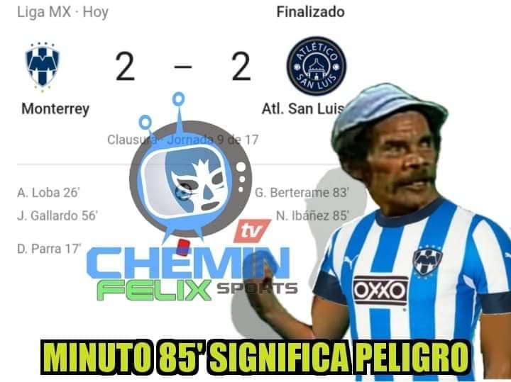 Memes de la Liga MX, Jornada 9