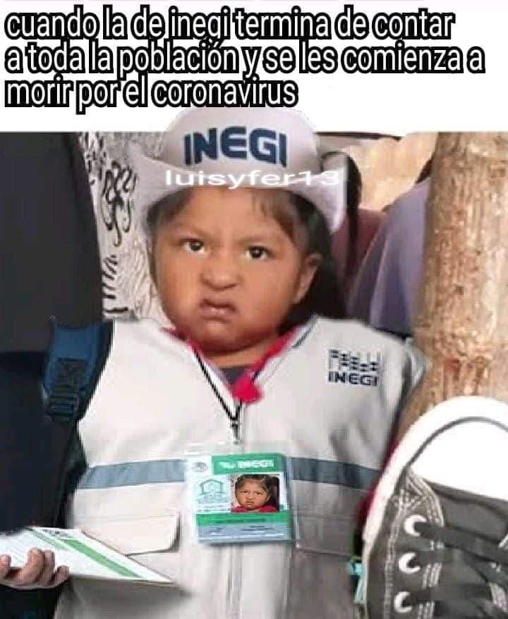 Memes del INEGI