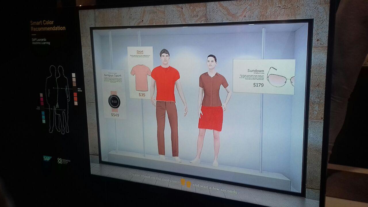 SAP Leonardo te ayudará a vestirte