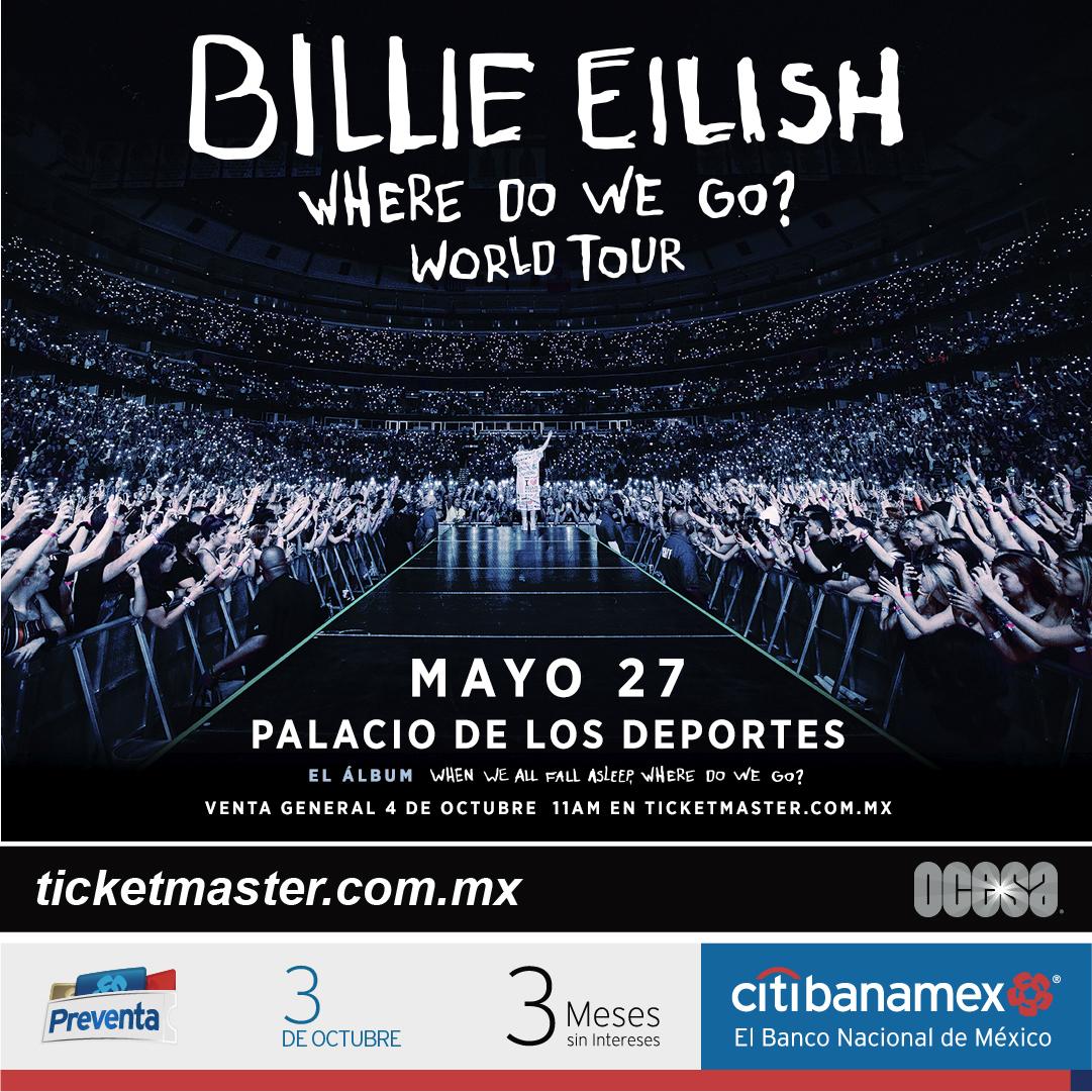 Billie Eilish México 2020