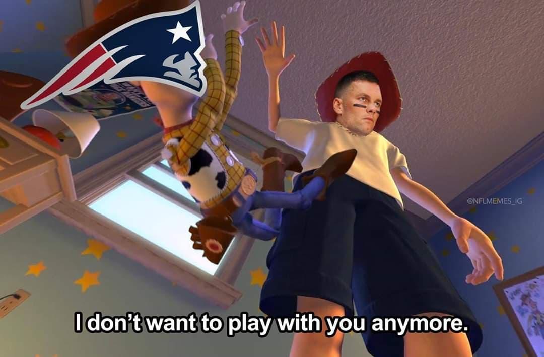 Tom Brady se va de los Pats