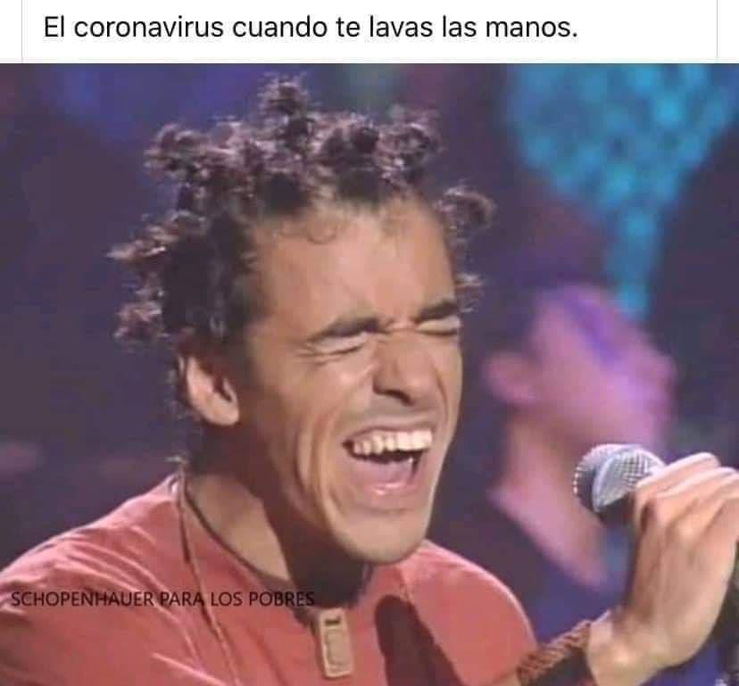 Más memes del coronavirus