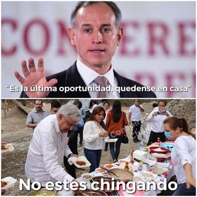 Memes del bombón Hugo López-Gatell