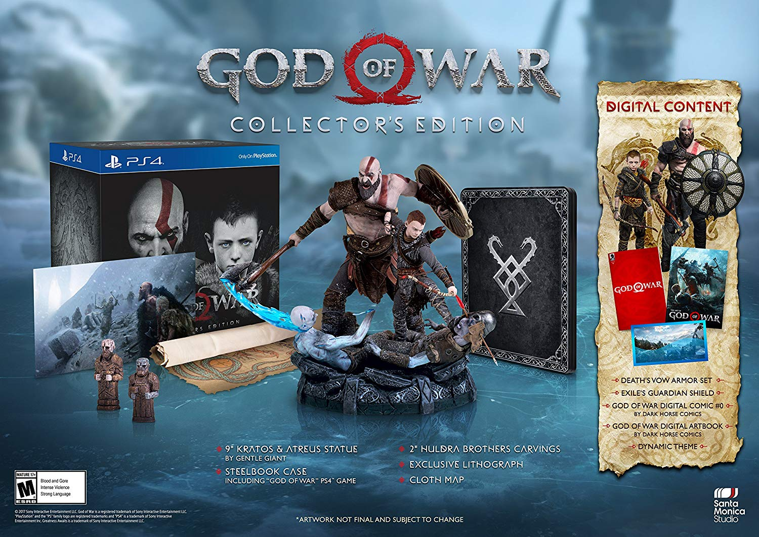 God of War - Collectors Edition $3,299.00