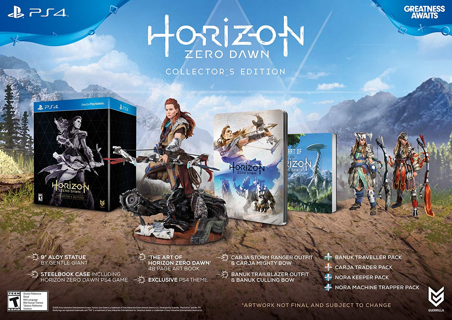 Horizon Zero Dawn - Collector's Edition $5,756.47