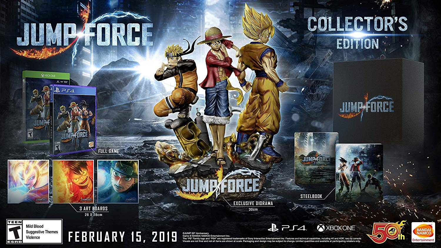 Jump Force: Collector's Edition desde $6,064.88