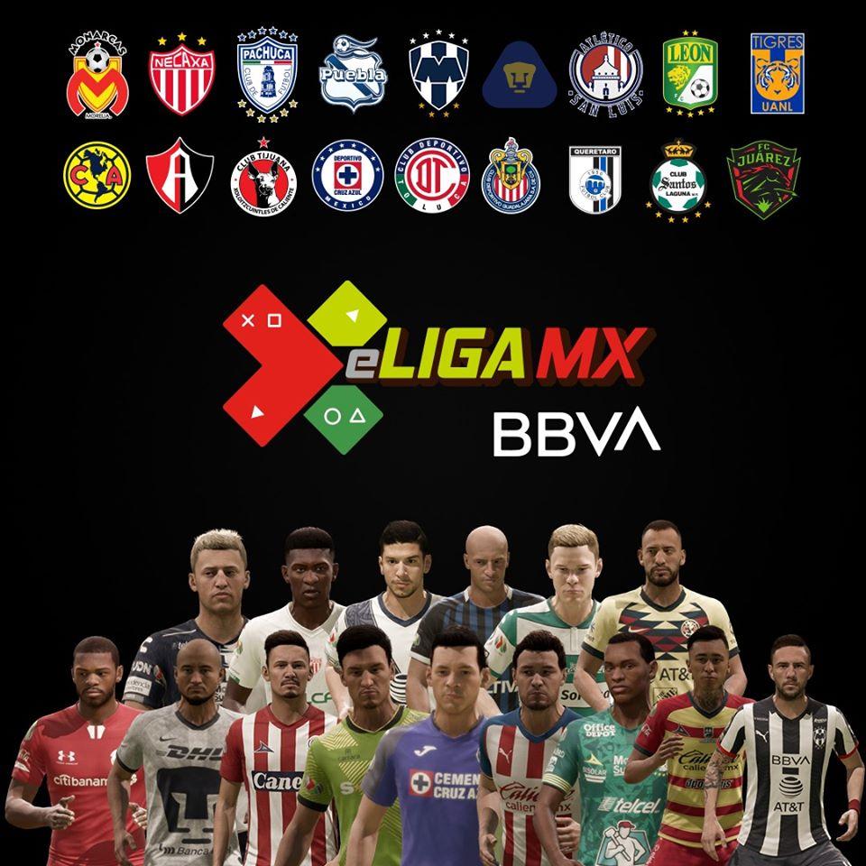 eLiga MX: futbolistas por club que participarán en el torneo