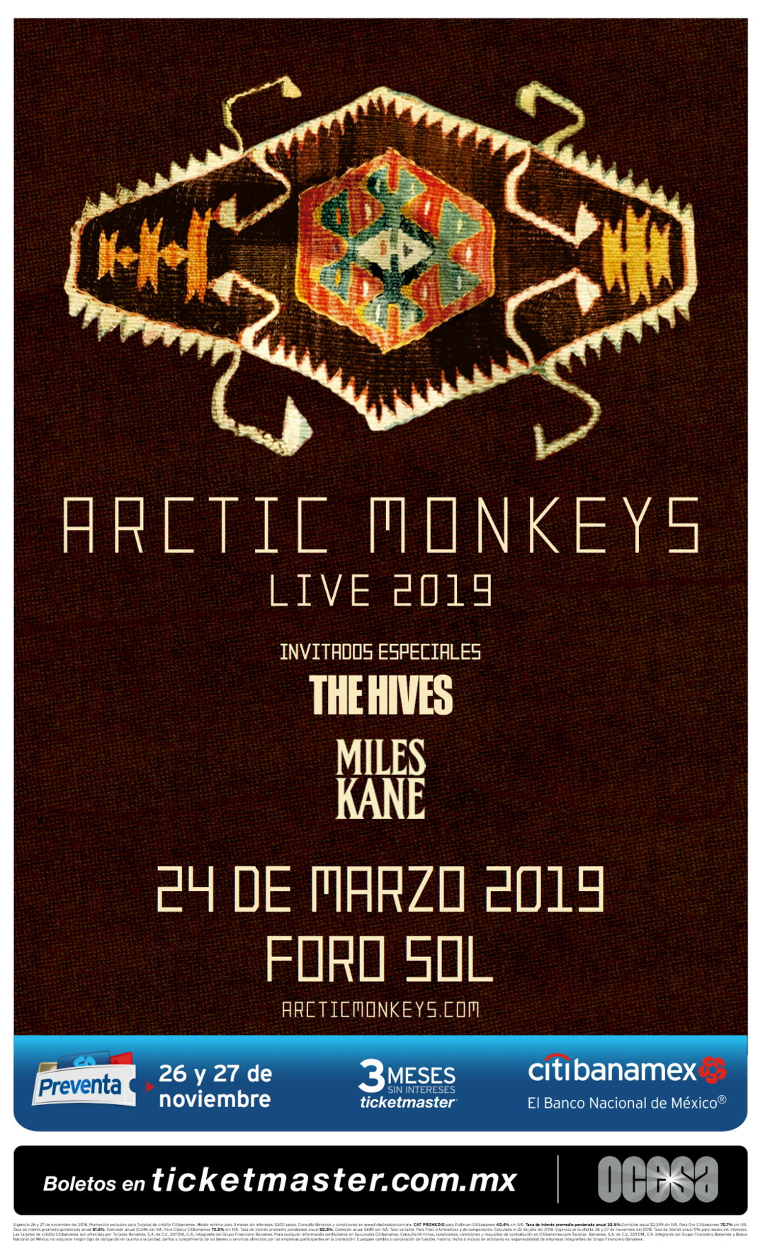 Arctic Monkeys en CDMX