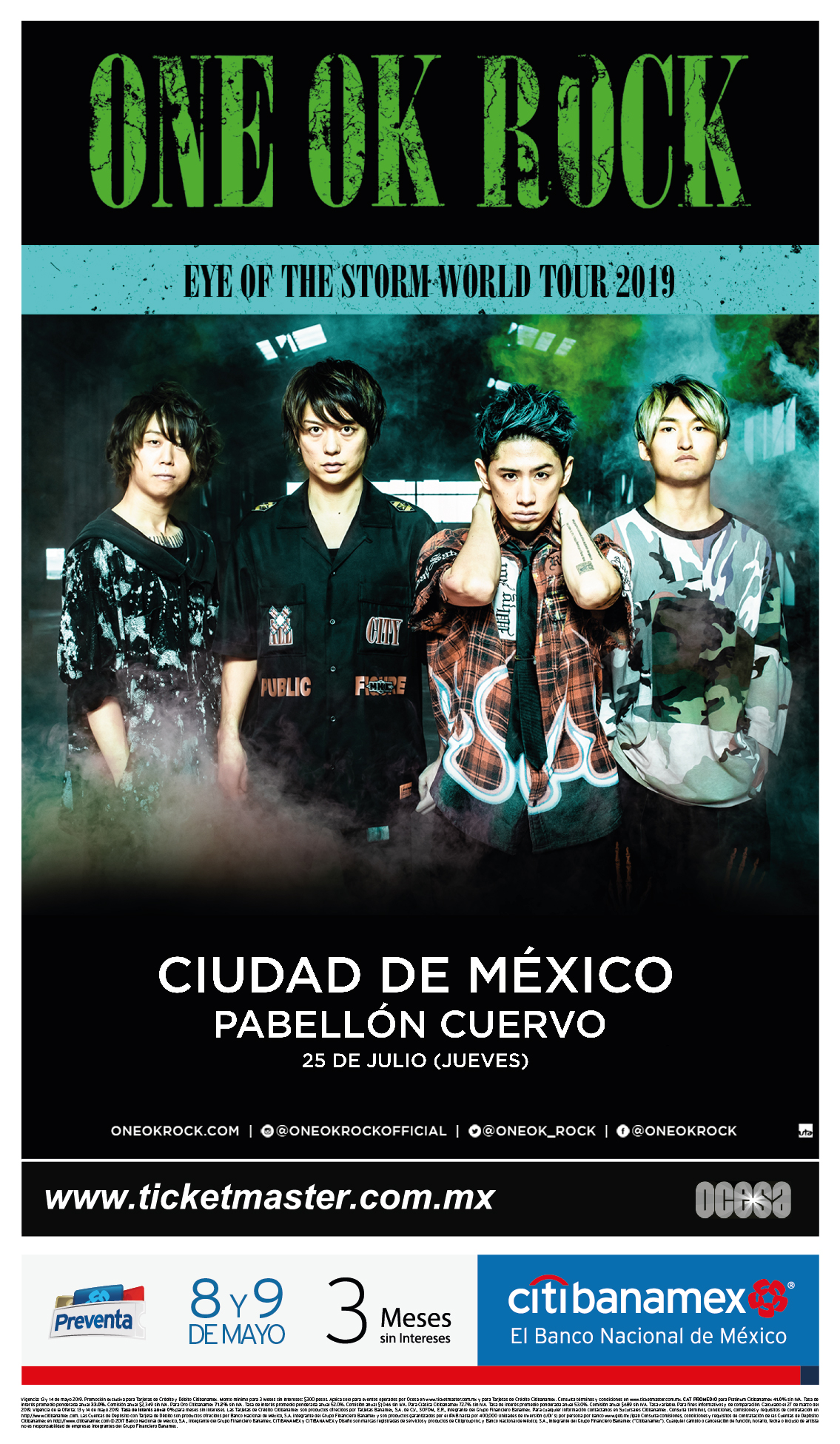 ONE OK ROCK México 2019