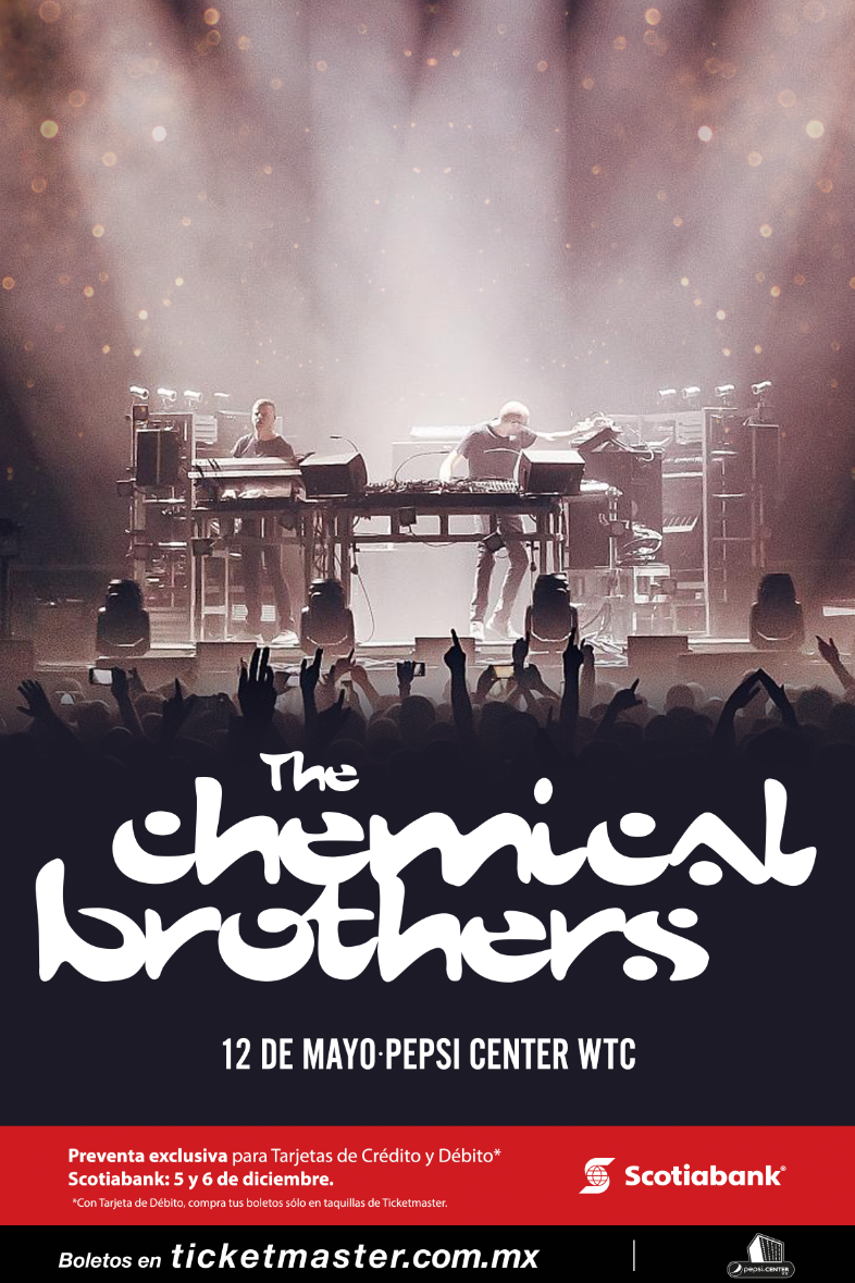 The Chemical Brothers en CDMX