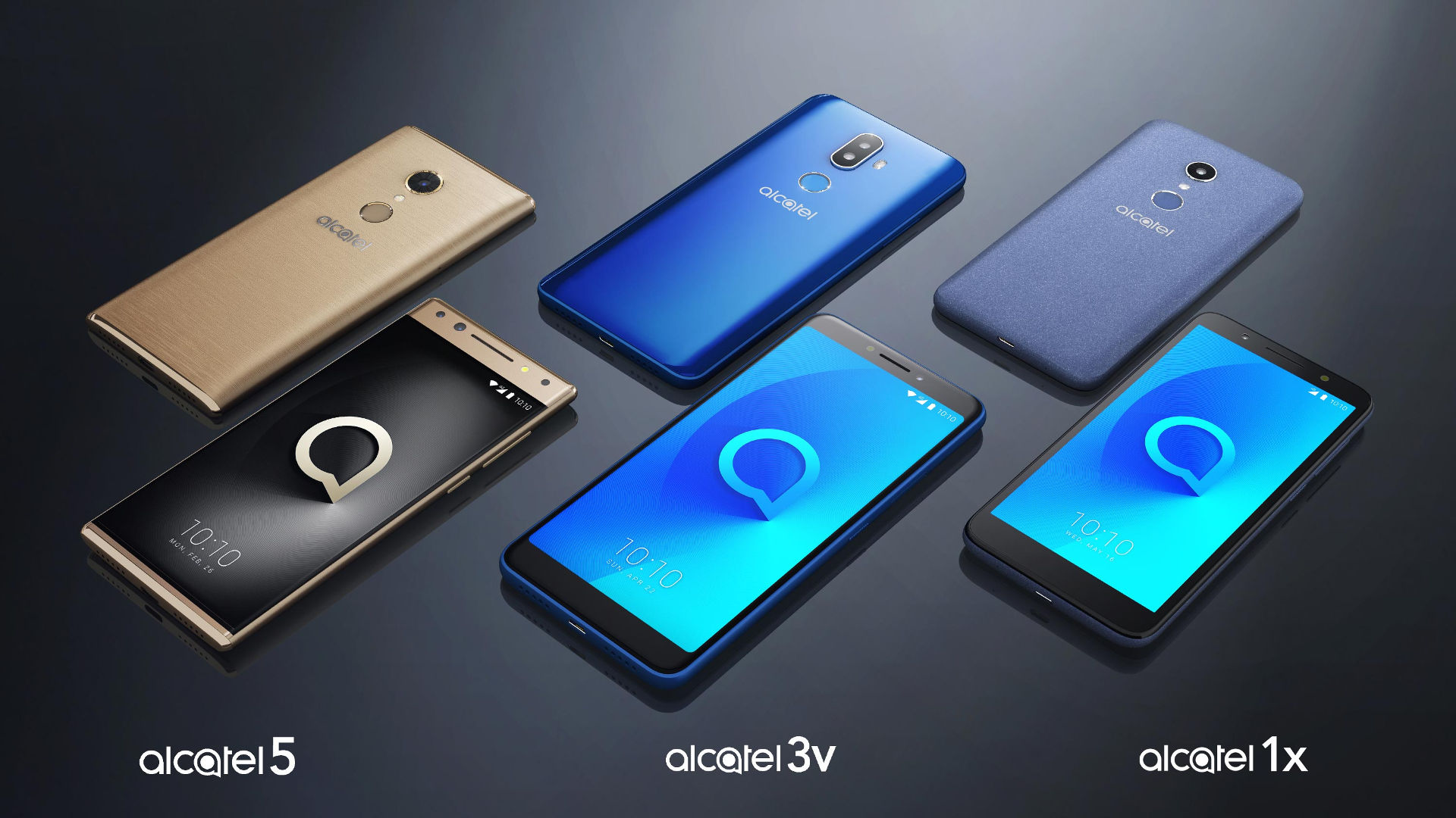 Alcatel series 3 y 5
