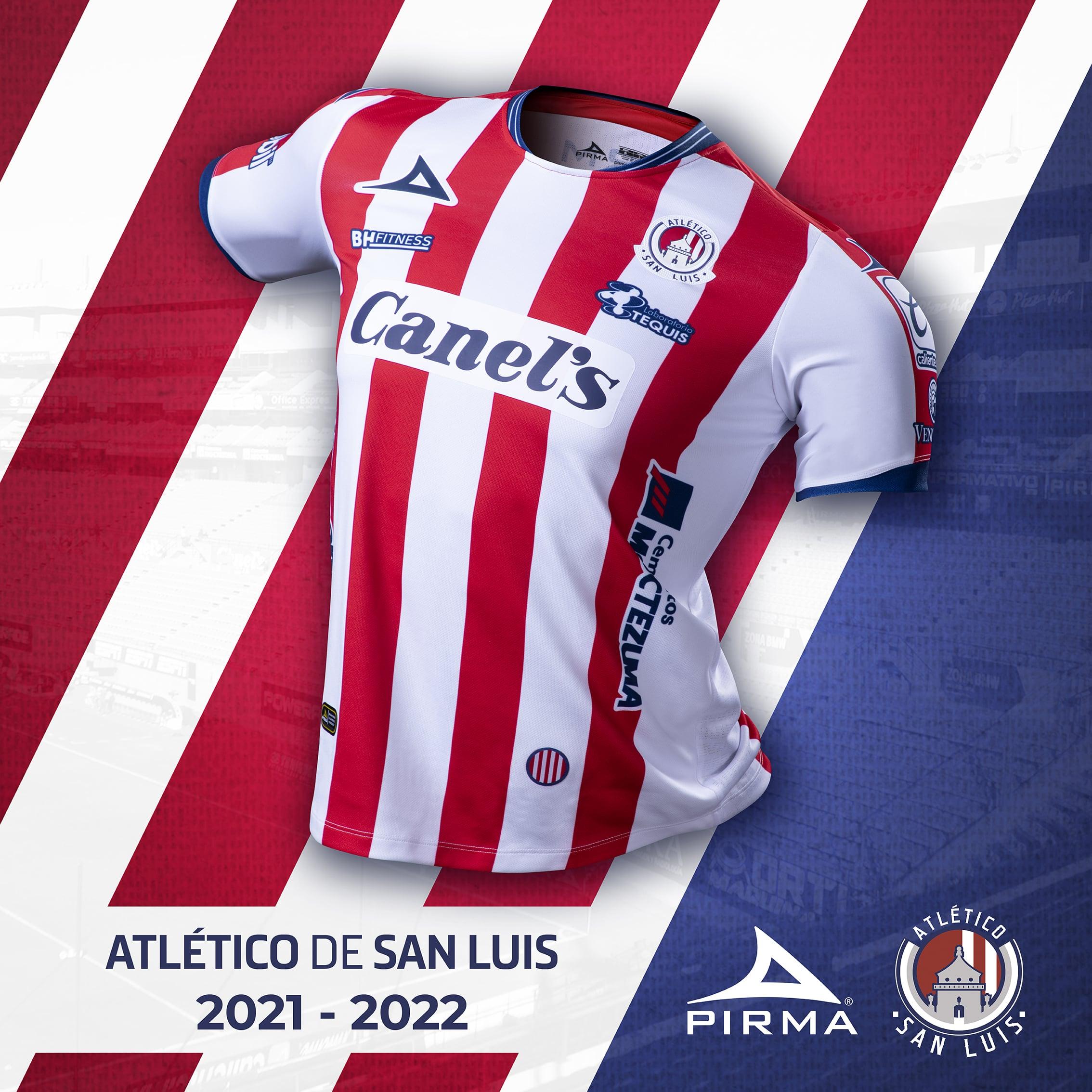 Jersey de local de San Luis para el Apertura 2021