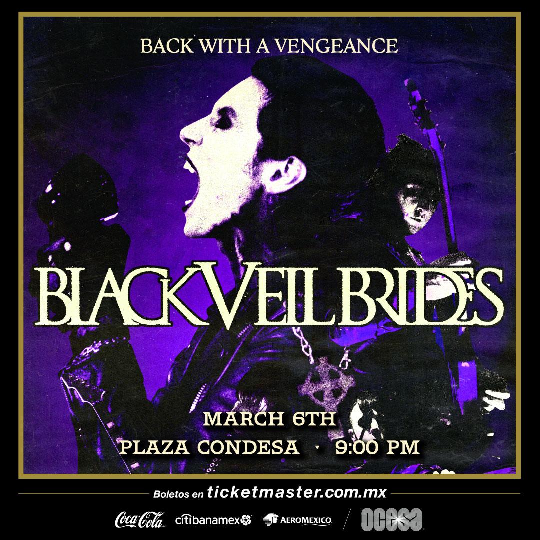 Black Veil Brides México 2020