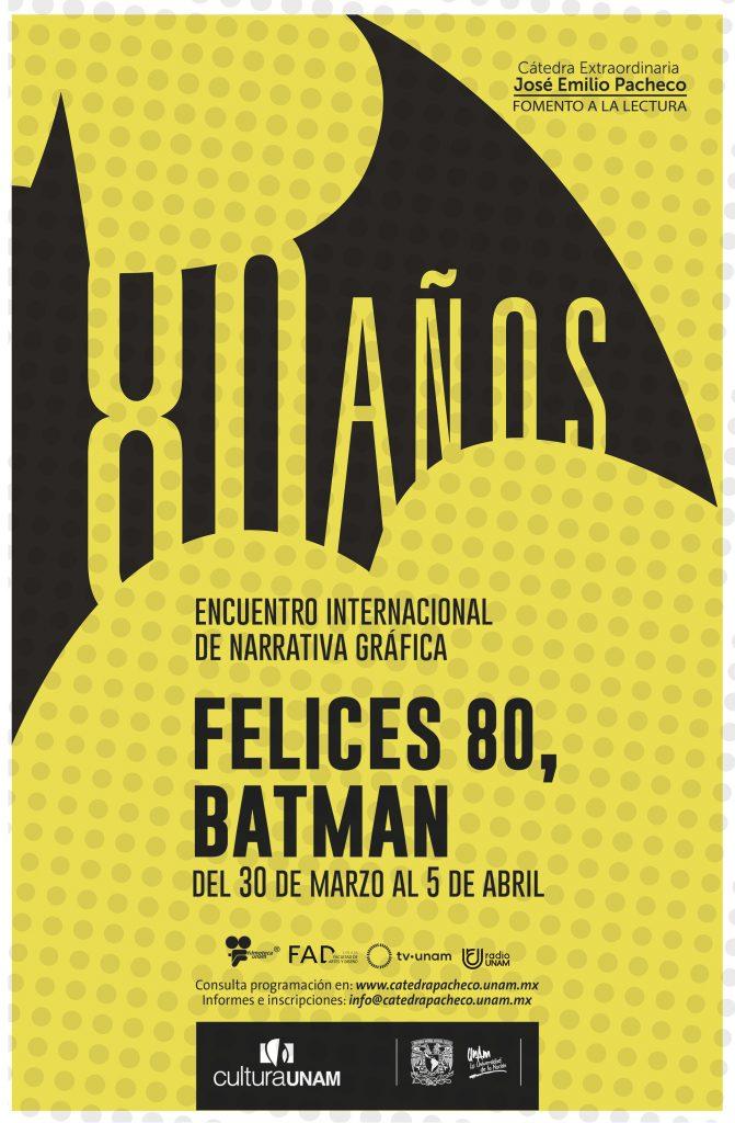 80 aniversario de Batman en la UNAM