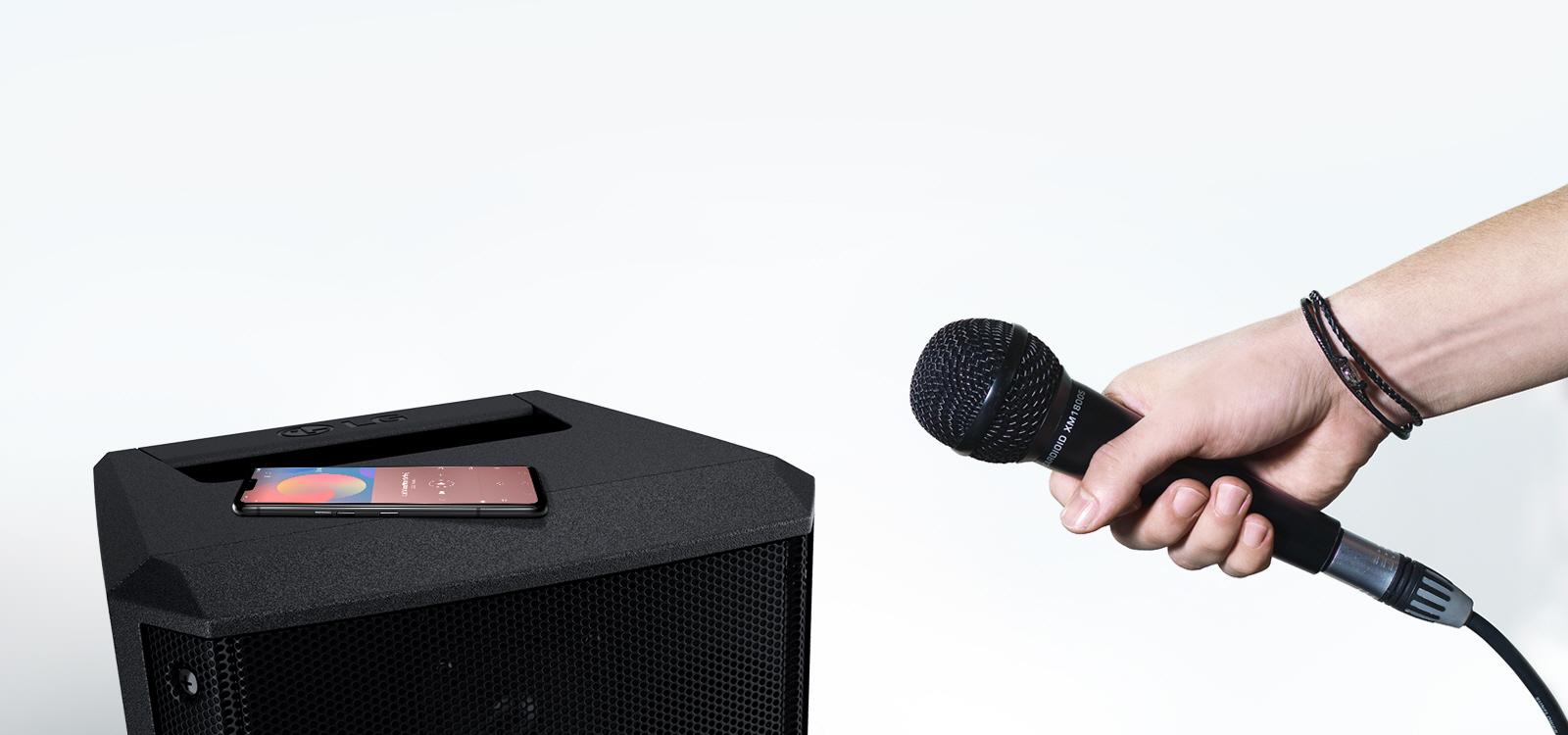 LG RM1: La bocina más ligera y nítida para tus fiestas