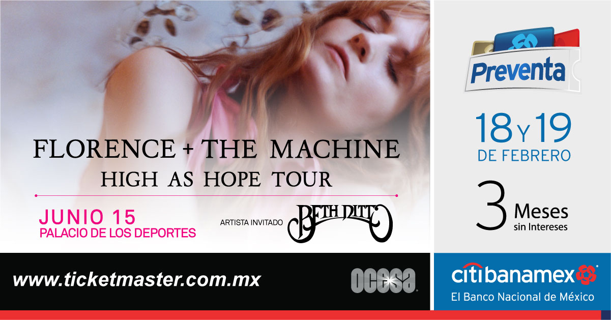 Florence + The Machine México 2019