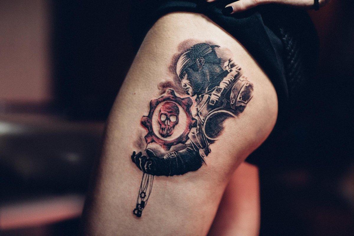 Tatuaje de Gears of War