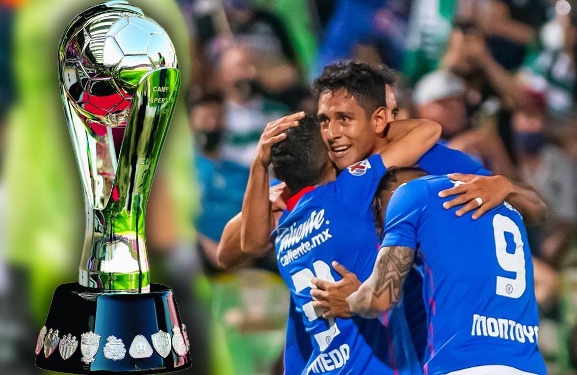 Final de la Liga MX 2021: Canales y horarios del Santos vs Cruz Azul (vuelta)