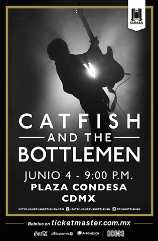 Catfish and the Bottlemen México 2019