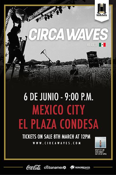 Circa Waves México 2019
