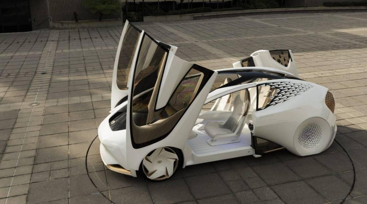 Toyota LQ en la CES 2020