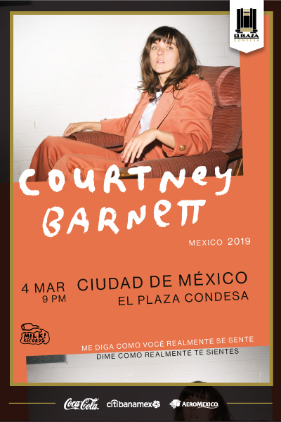 Courtney Barnett México 2019