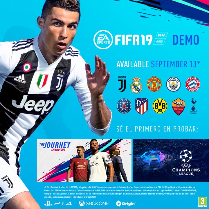 Equipos en FIFA19