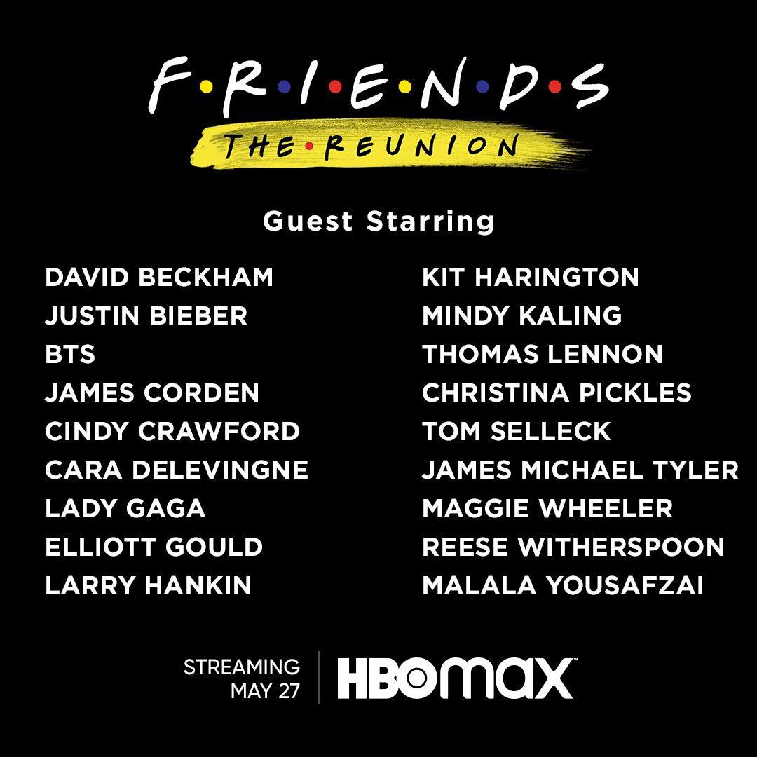 Friends: The Reunion: Dónde ver, fecha de estreno y tráiler