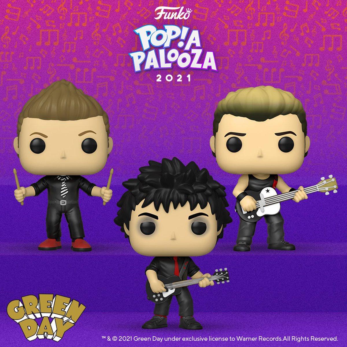 Green Day Funkos