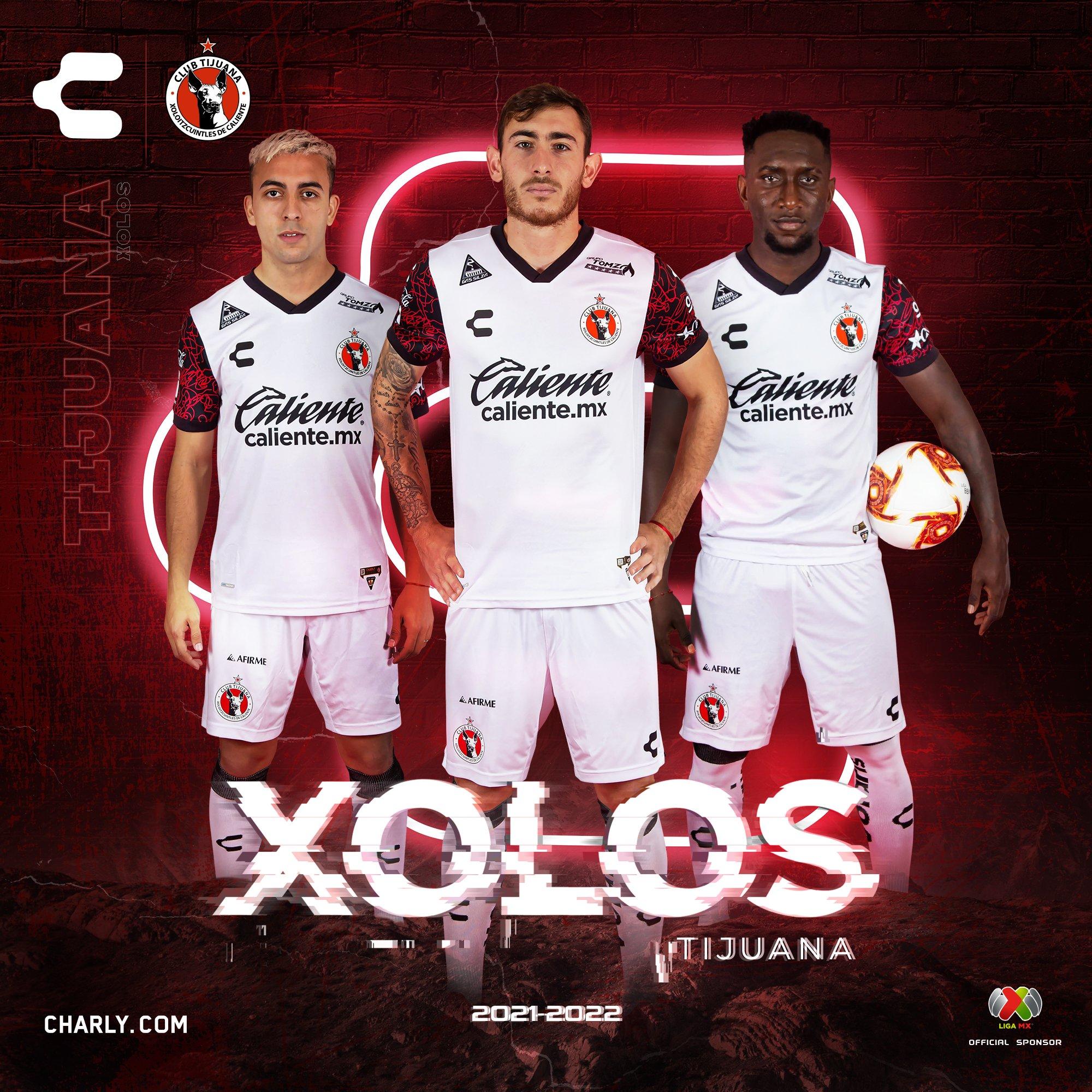 Jersey de visita de Tijuana para el Apertura 2021