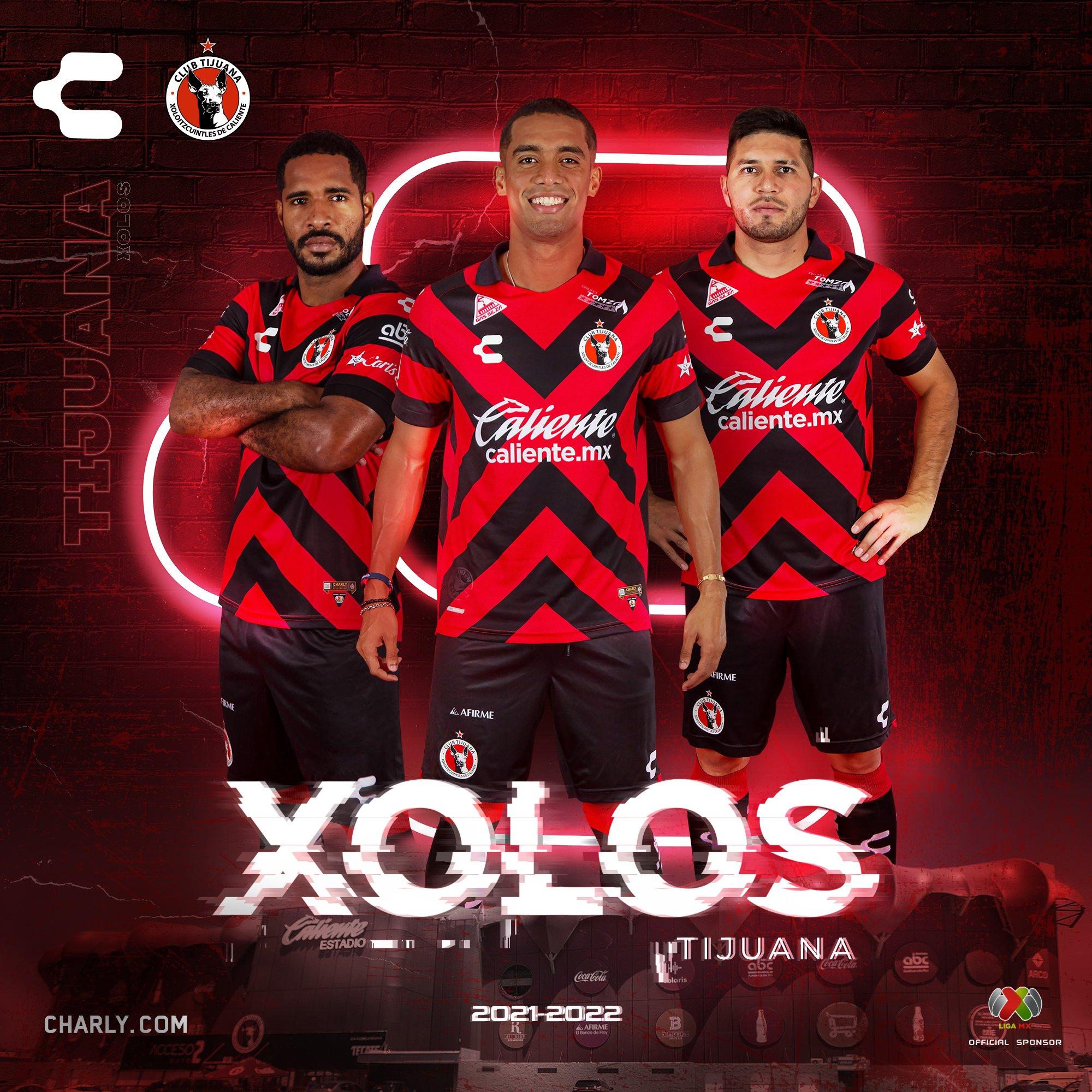 Jersey de local de Tijuana para el Apertura 2021