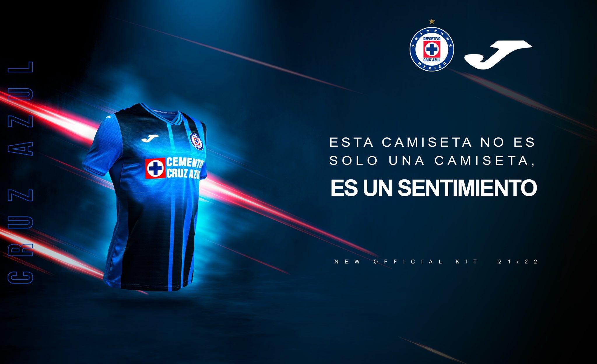 Jersey de local de Cruz Azul para el Apertura 2021