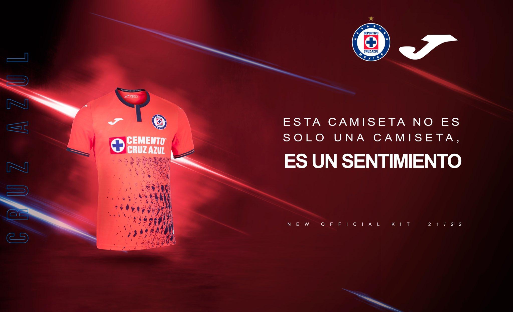 Jersey alternativo de Cruz Azul para el Apertura 2021