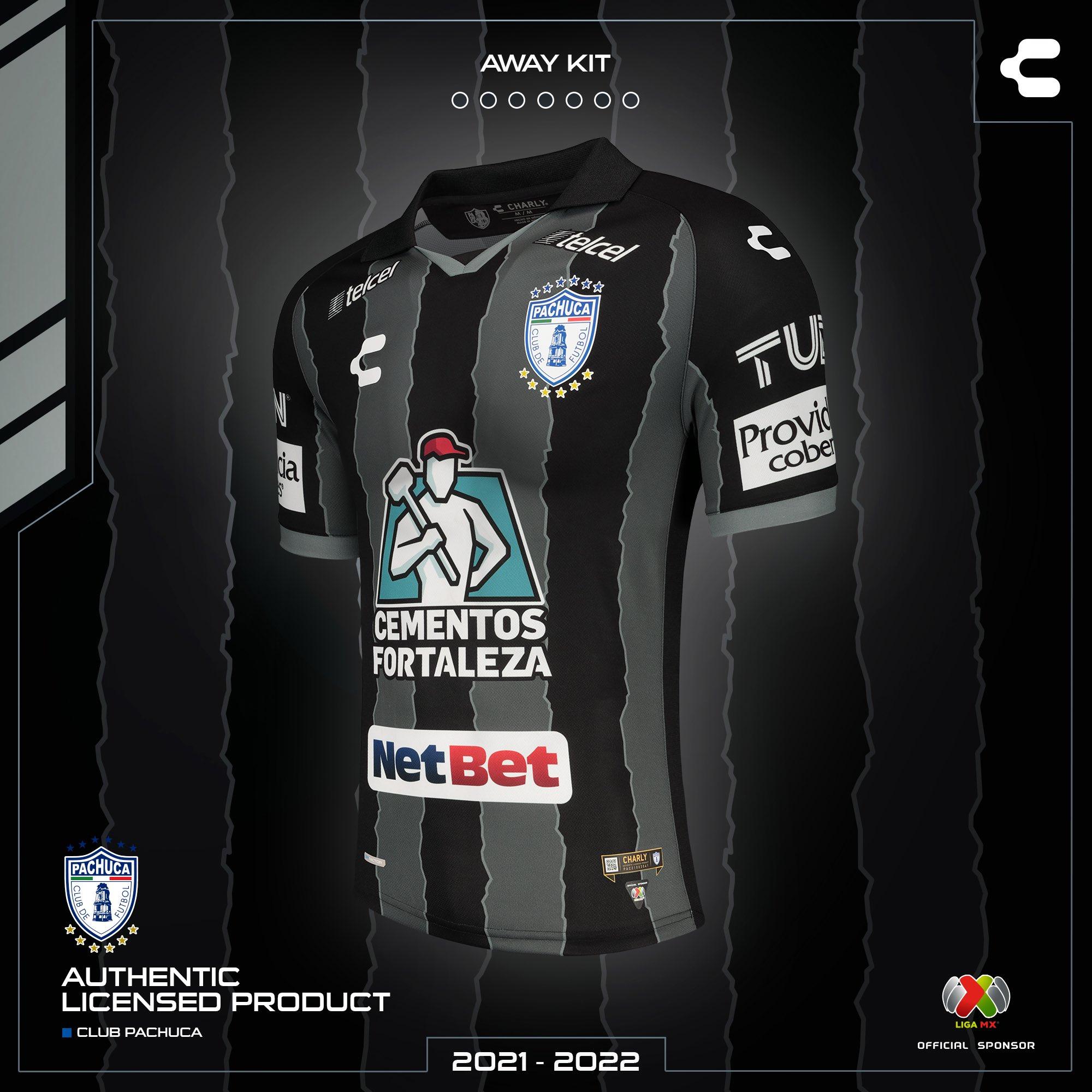 Jersey de visita de Pachuca para el Apertura 2021