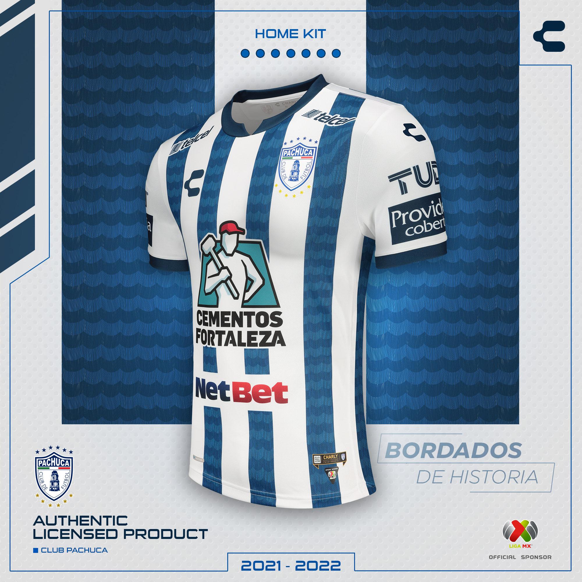 Jersey de local de Pachuca para el Apertura 2021