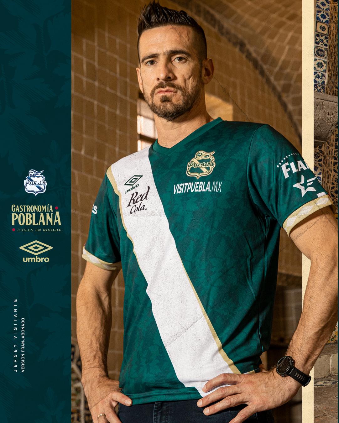 Jersey de visita de Puebla para el Apertura 2021