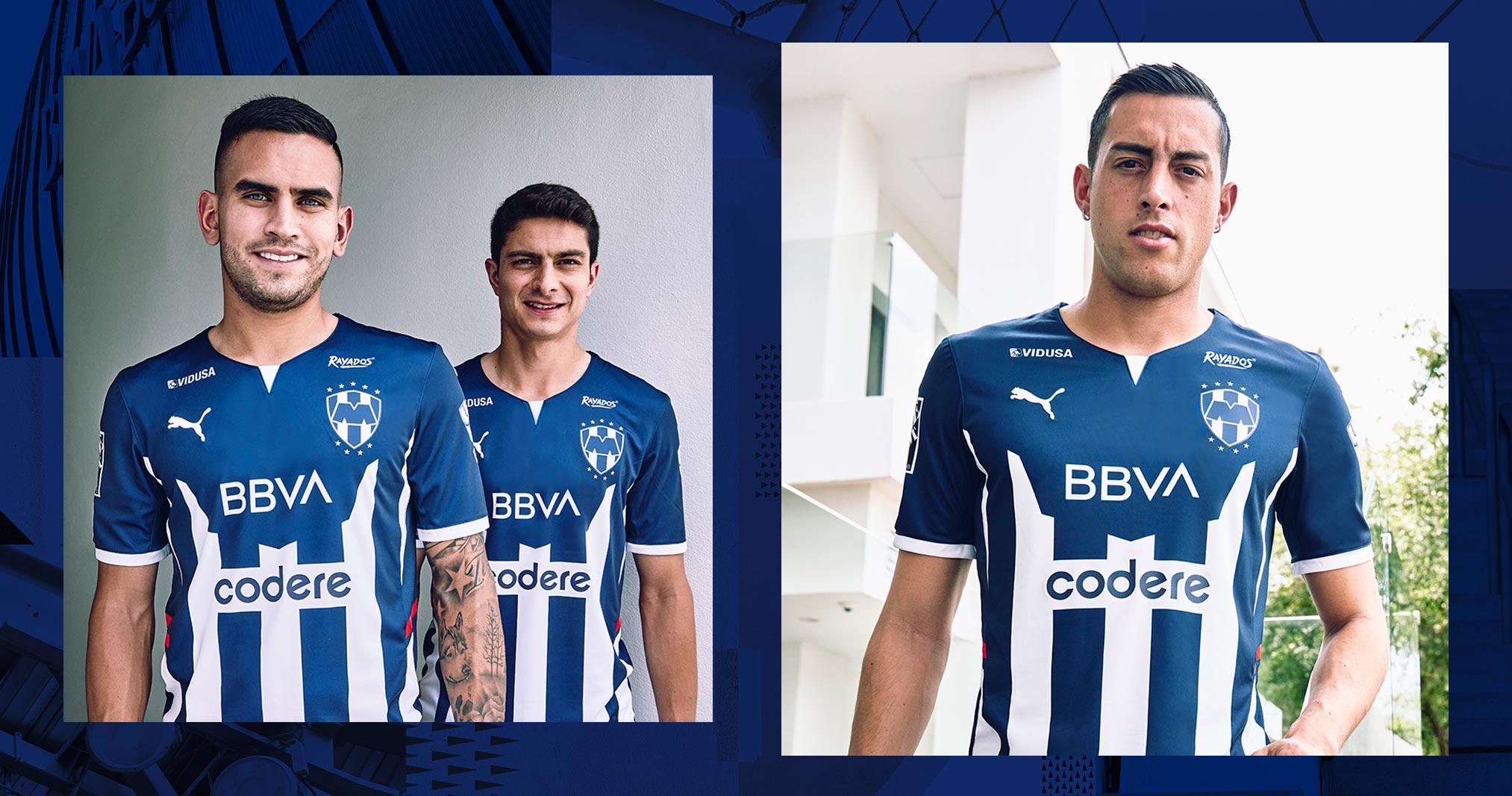 Jersey de local de Monterrey para el Apertura 2021