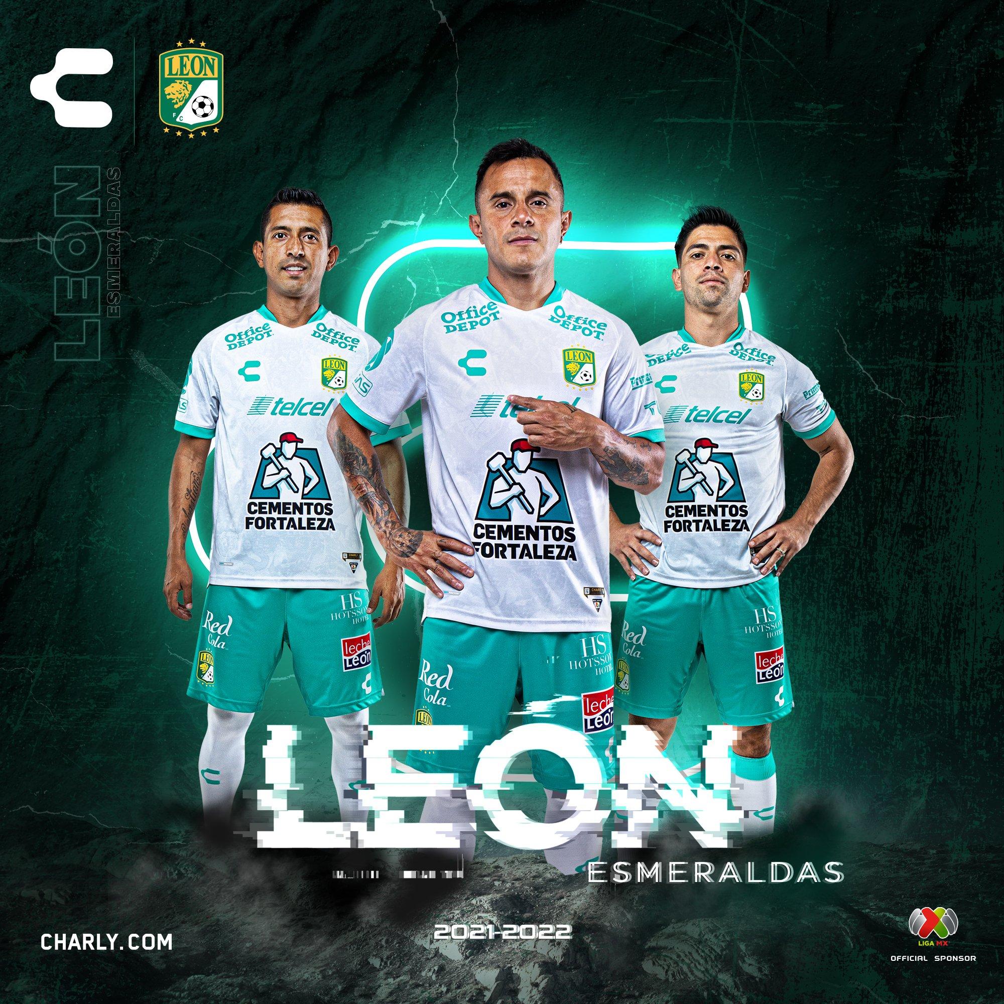 Jersey de visita de León para el Apertura 2021
